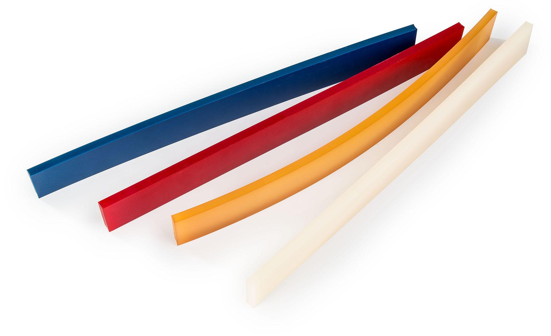 Streifen und Platten aus Polyurethan