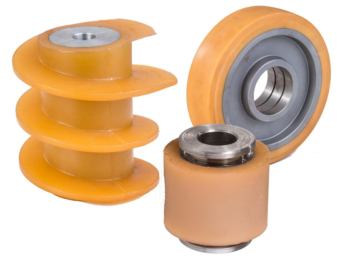 PU-/Vulkollan-Metallverbindungen